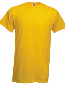 CAMISETA COLOR HEAVY-T* AMARILLO