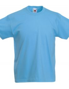 CAMISETA NIÑO COLOR VALUEWEIGHT* AZUL CLARO