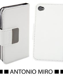 FUNDA IPHONE YUMAX* -ANTONIO MIRO-* BLANCO