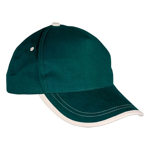 GORRA USA VERDE/NATURAL